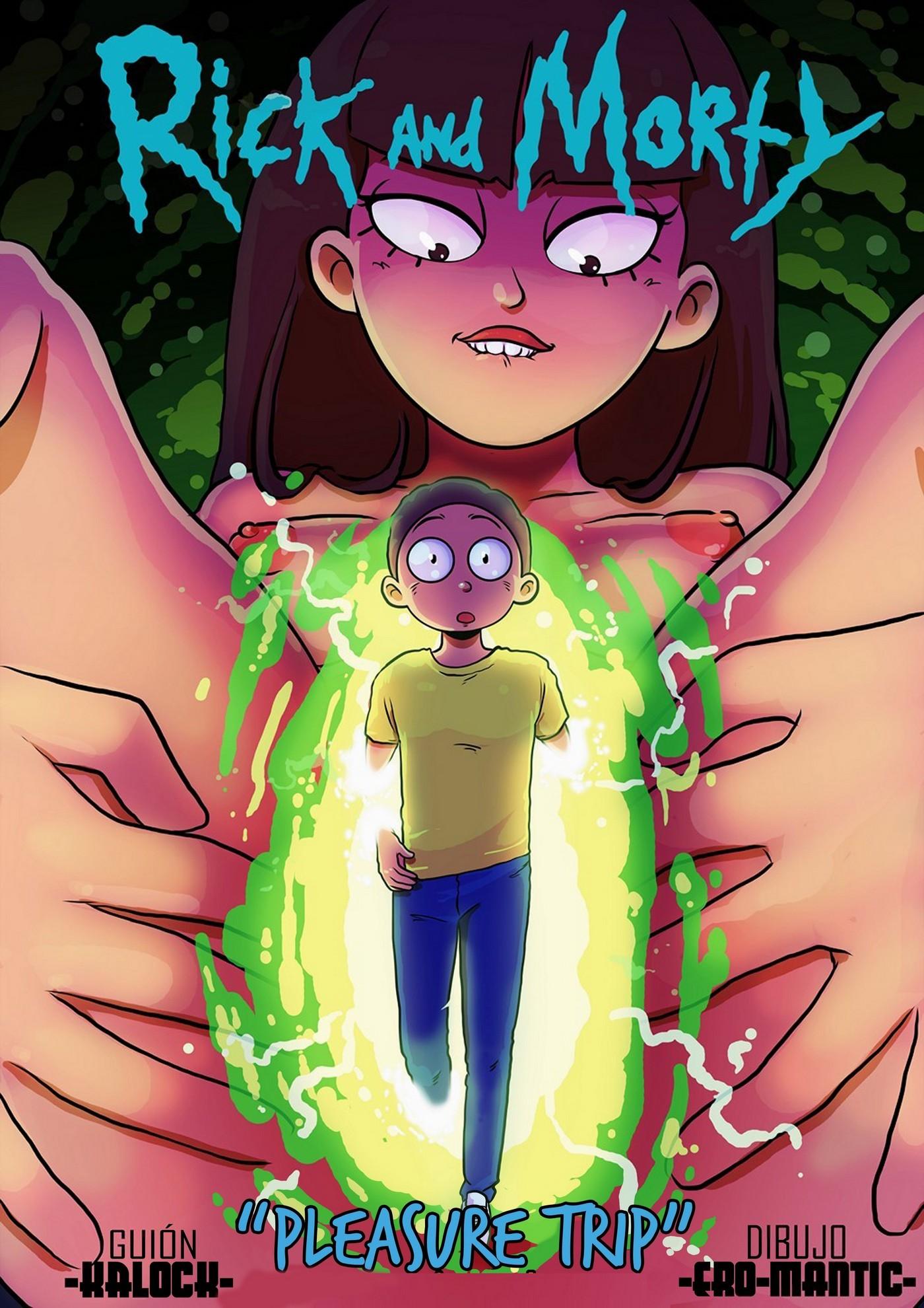 Rick and Morty Pleasure Trip 01