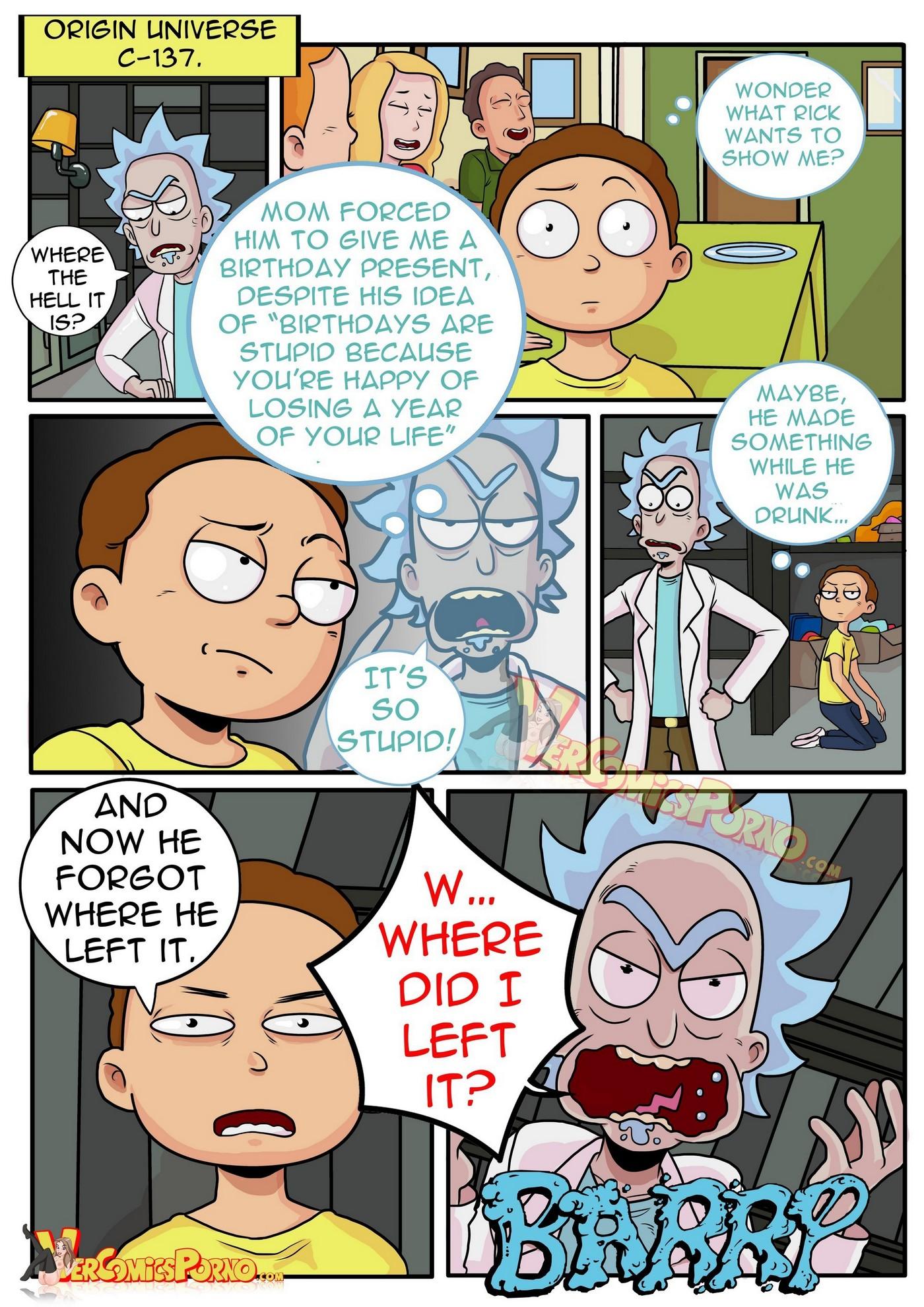 Rick and Morty Pleasure Trip 02