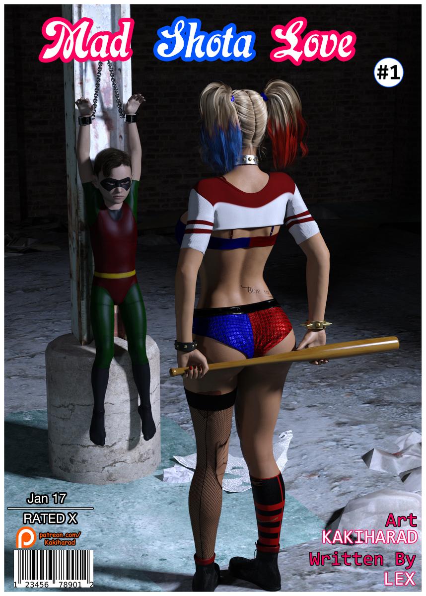 3D Harley Quinn Porn harley quinn - mad shota love - kingcomix
