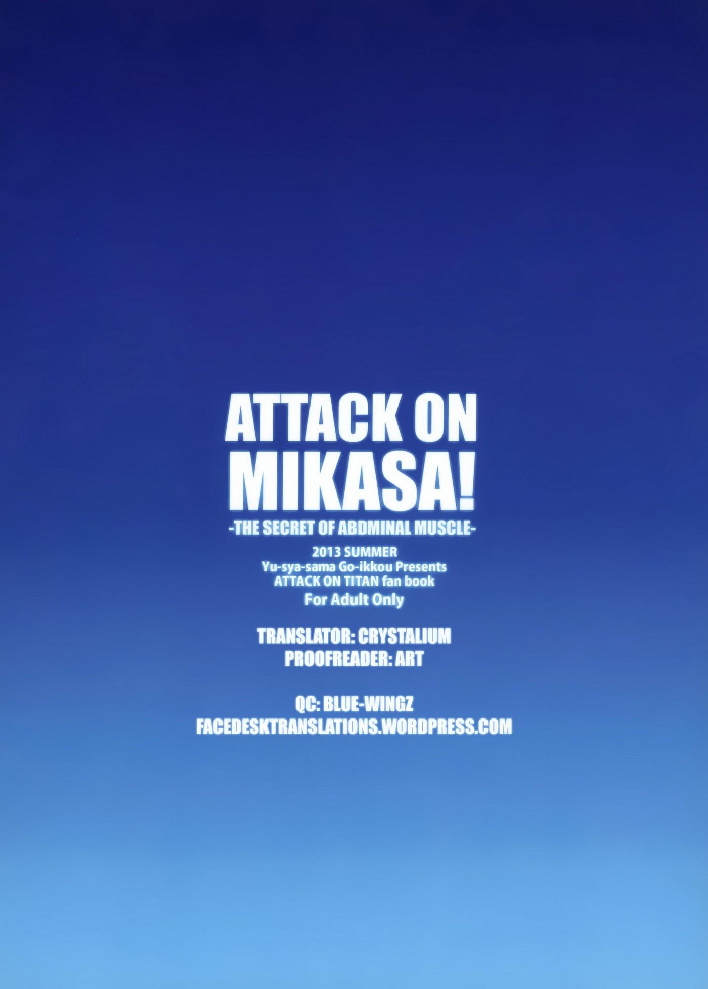 ATTACK ON MIKASA 26