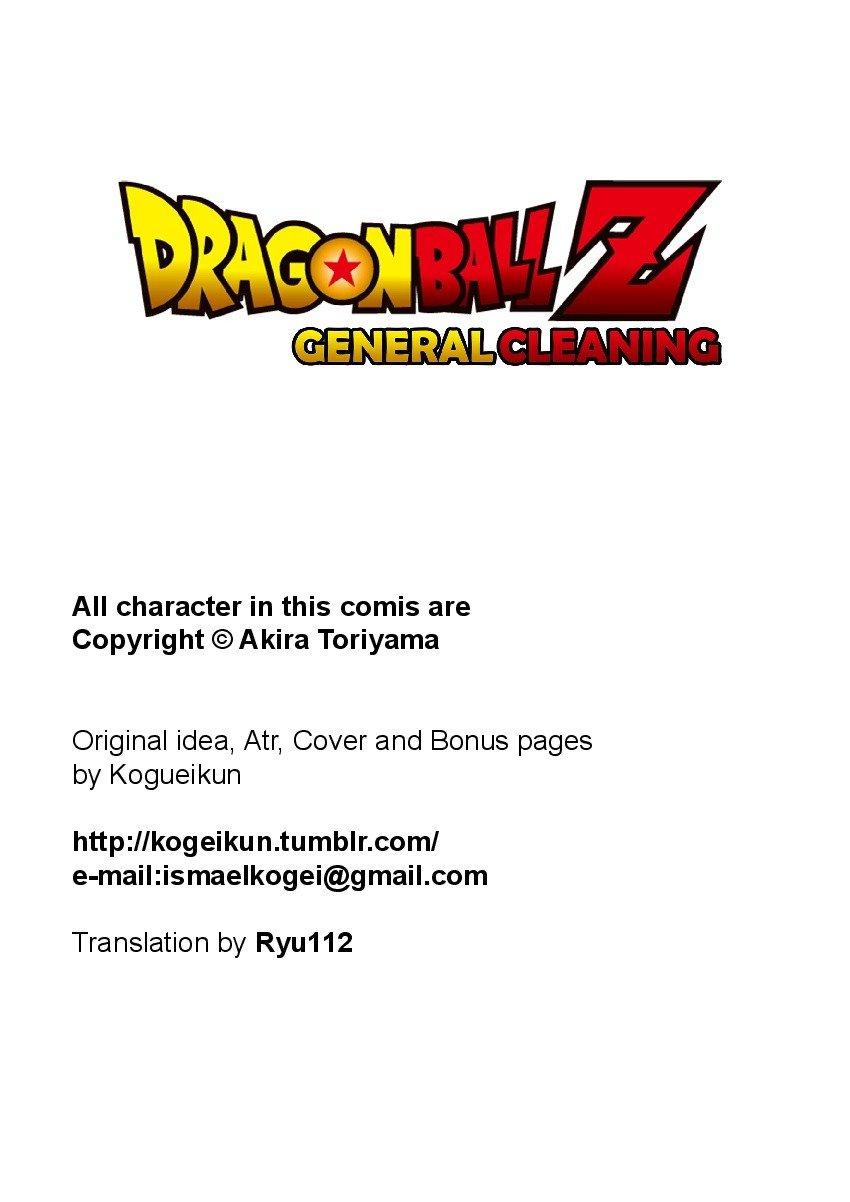 General Cleaning Dragon Ball Z 02