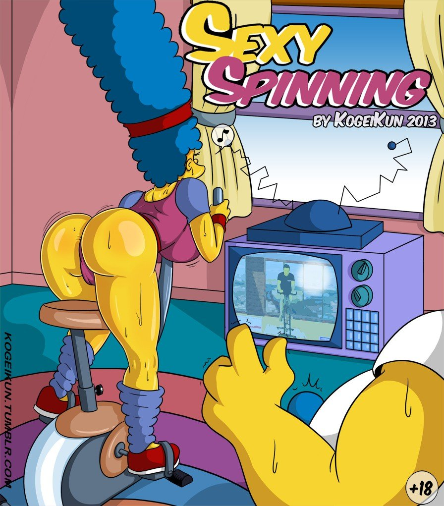 Sexy Spinning The Simpsons 01