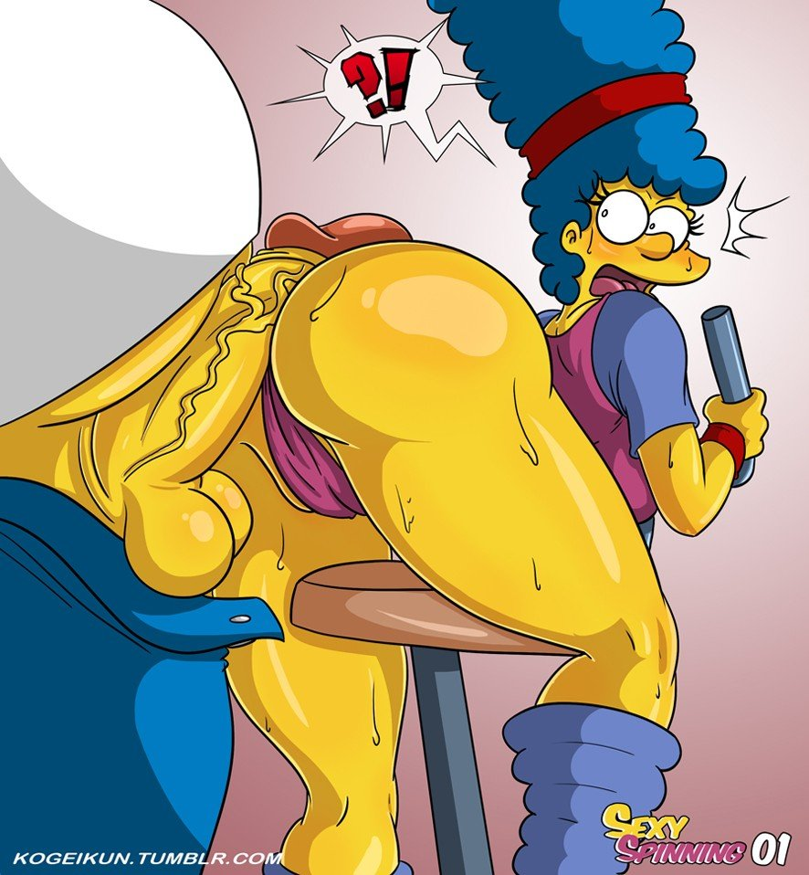 Sexy Spinning The Simpsons 02