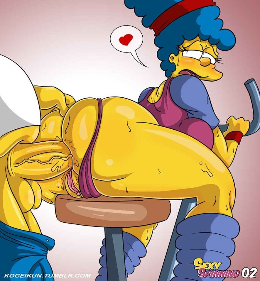 Sexy Spinning The Simpsons 03