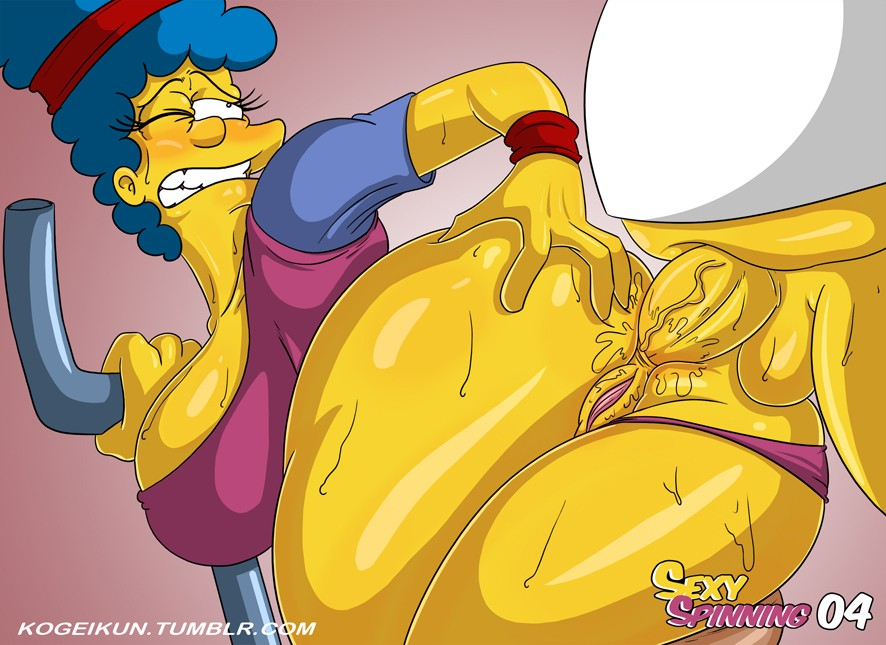 Sexy Spinning The Simpsons 05
