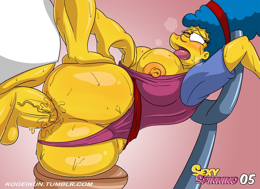 Sexy Spinning The Simpsons 06