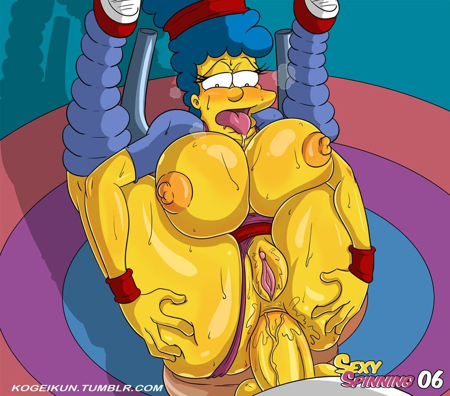 Sexy Spinning The Simpsons 07