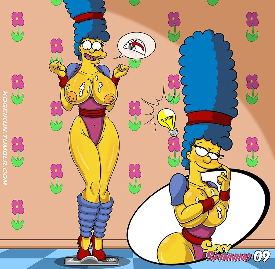 Sexy Spinning The Simpsons 10