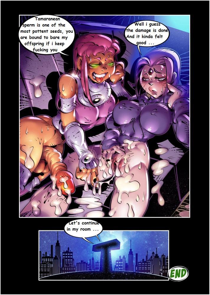 Teen Titans XXX Wagnerhentai 12