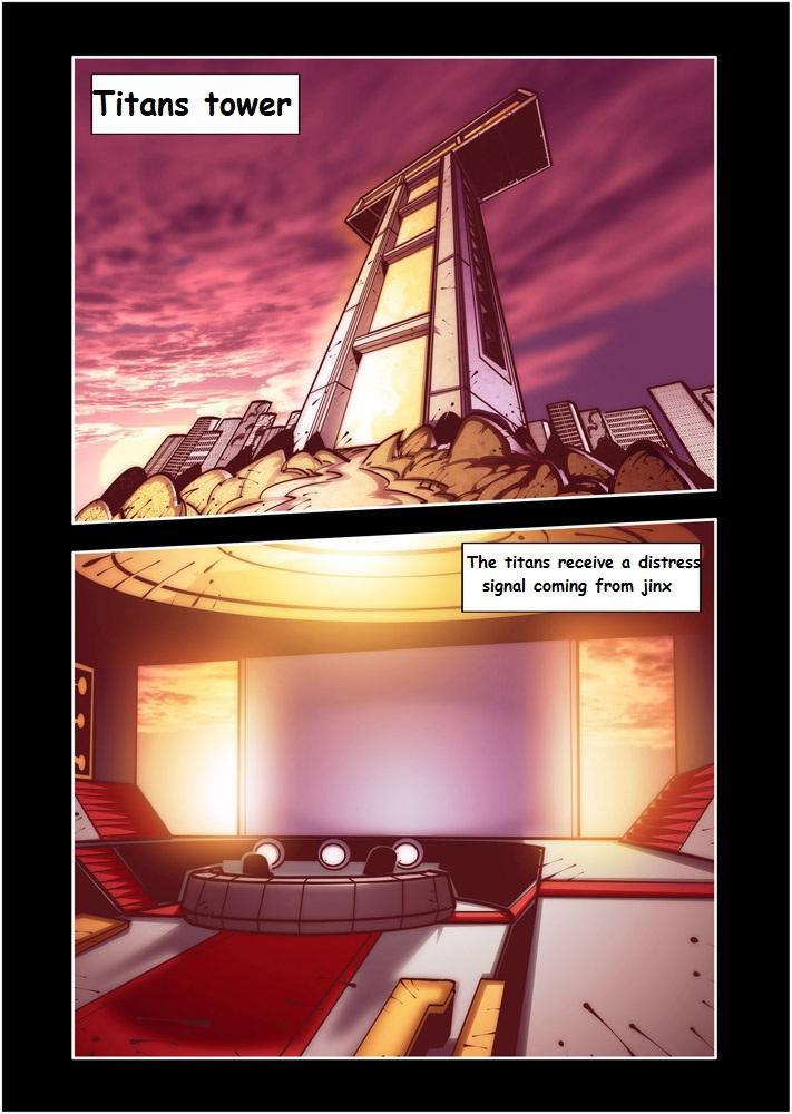 Teen Titans XXX Wagnerhentai 2
