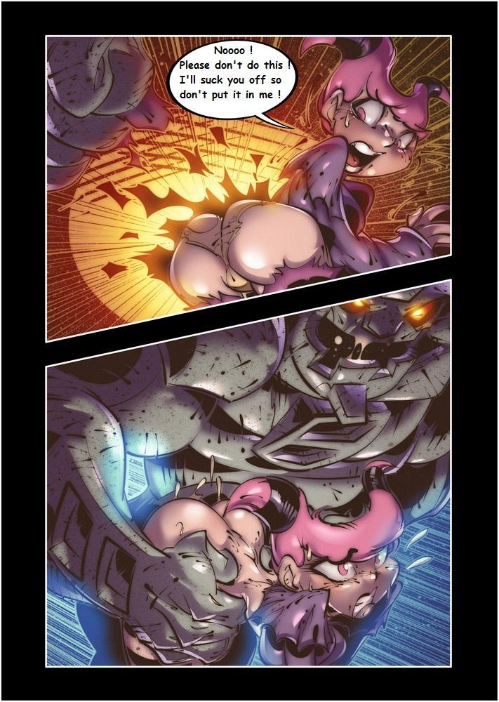 Teen Titans XXX Wagnerhentai 3