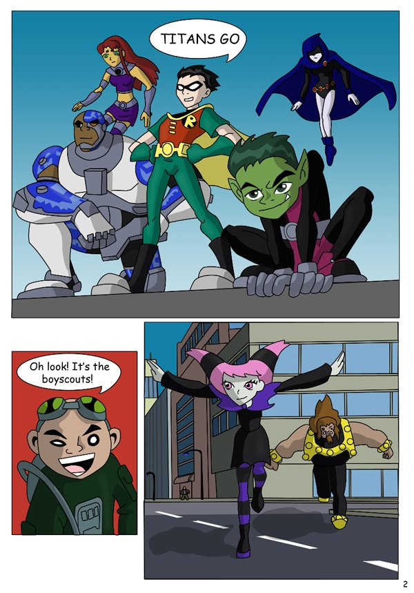 The Teen Titans The Mishap 03