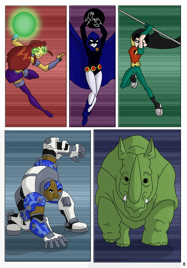 The Teen Titans The Mishap 09