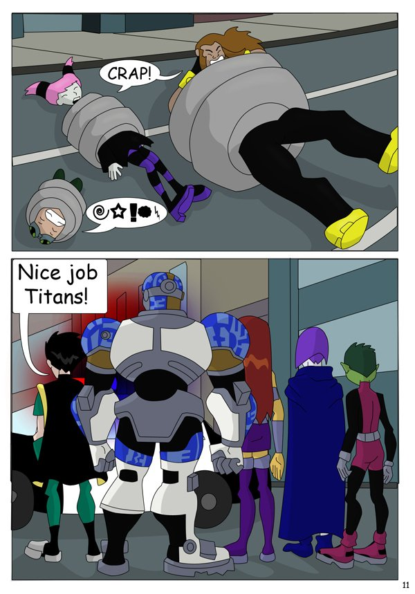 The Teen Titans The Mishap 12