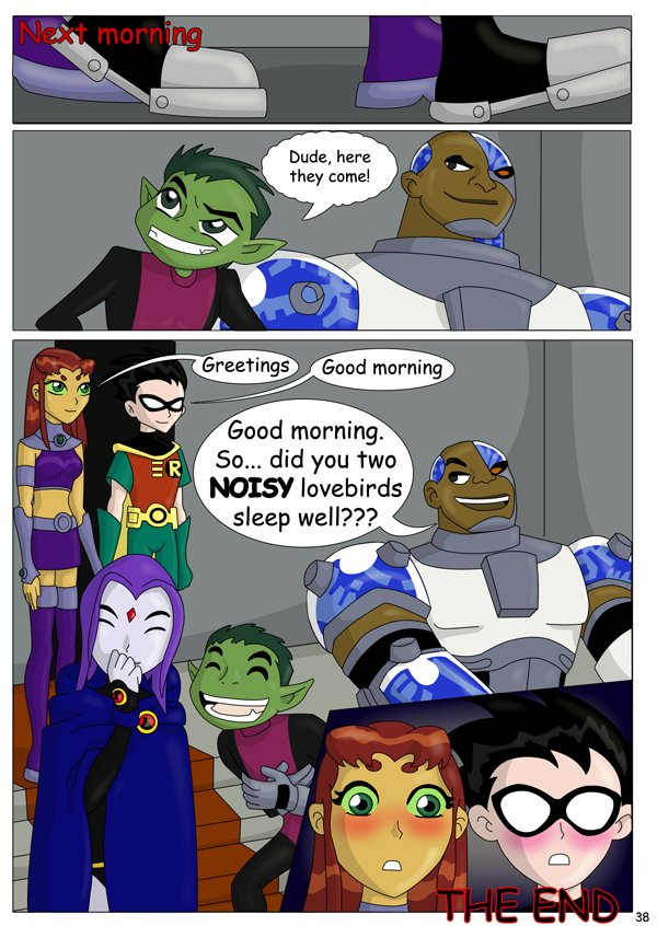 The Teen Titans The Mishap 38