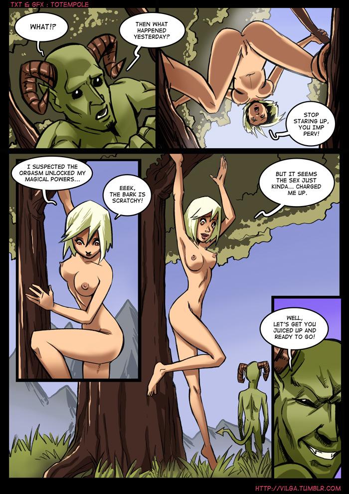 The Cummoner 2 Witch Morwena 04