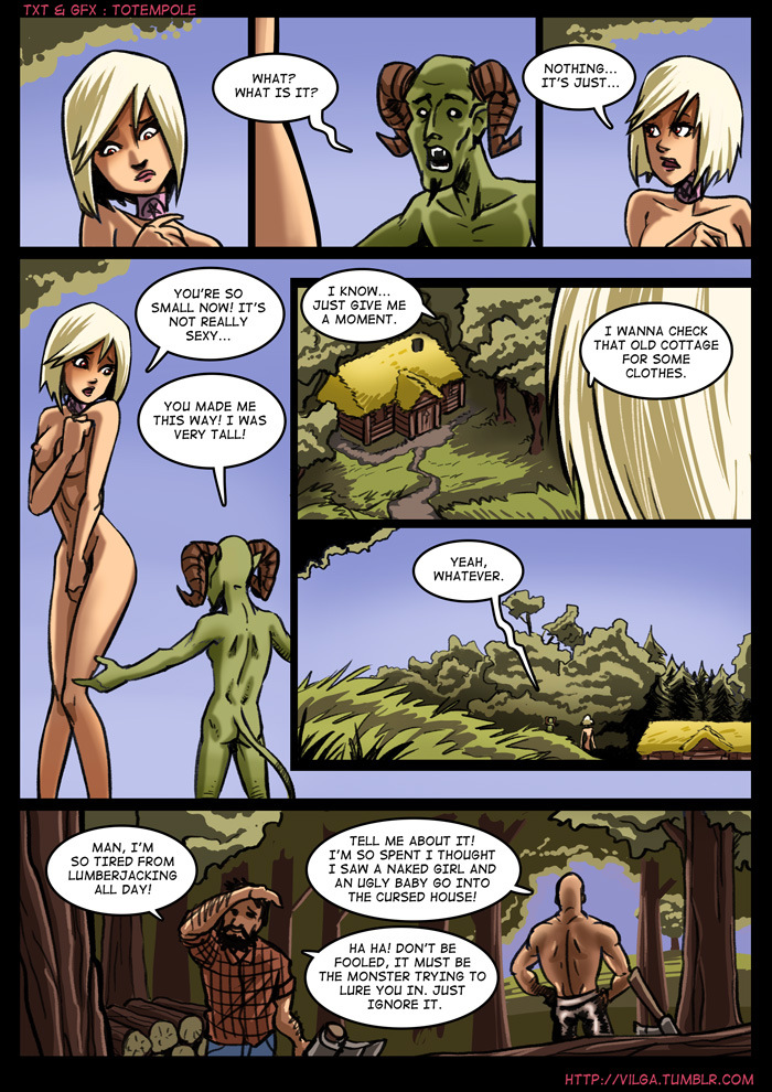 The Cummoner 2 Witch Morwena 05