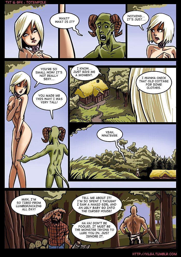 The Cummoner 2 Witch Morwena 07