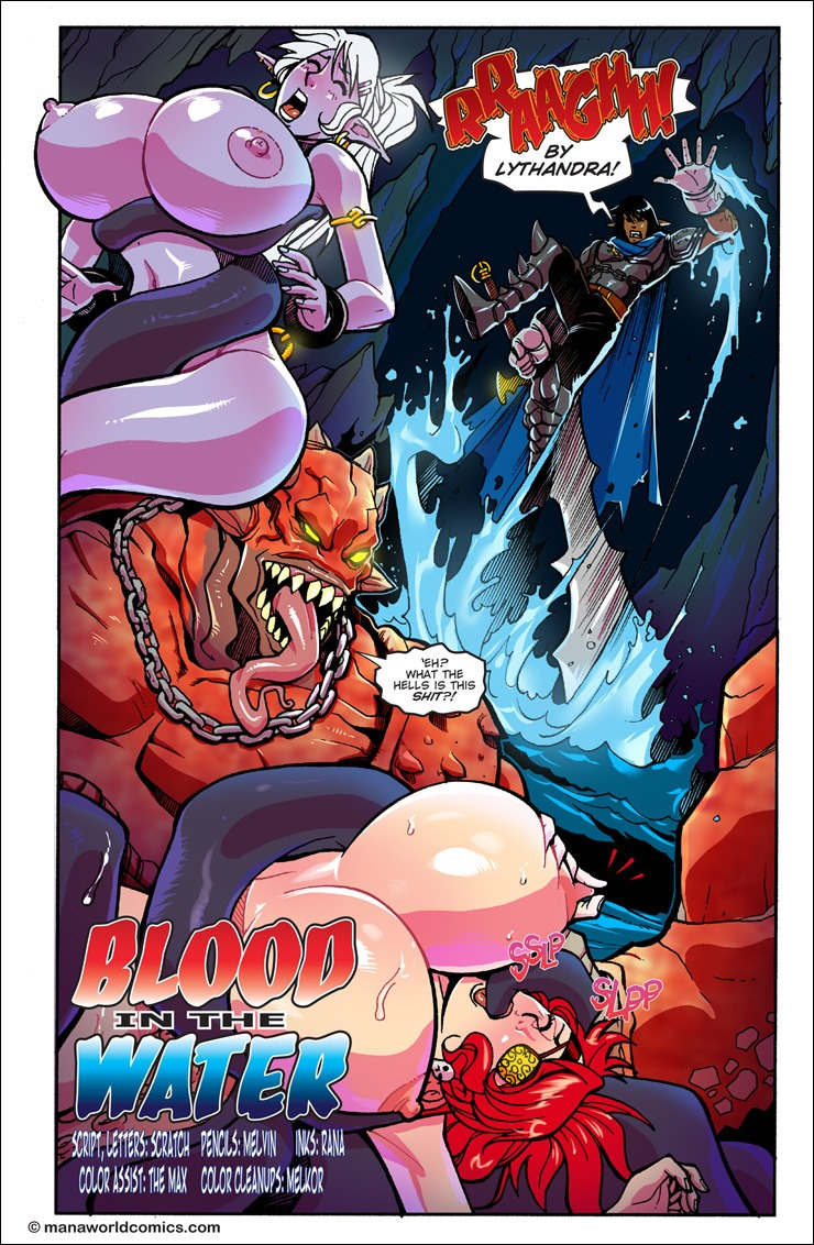 Blood in the Water Mana World 1