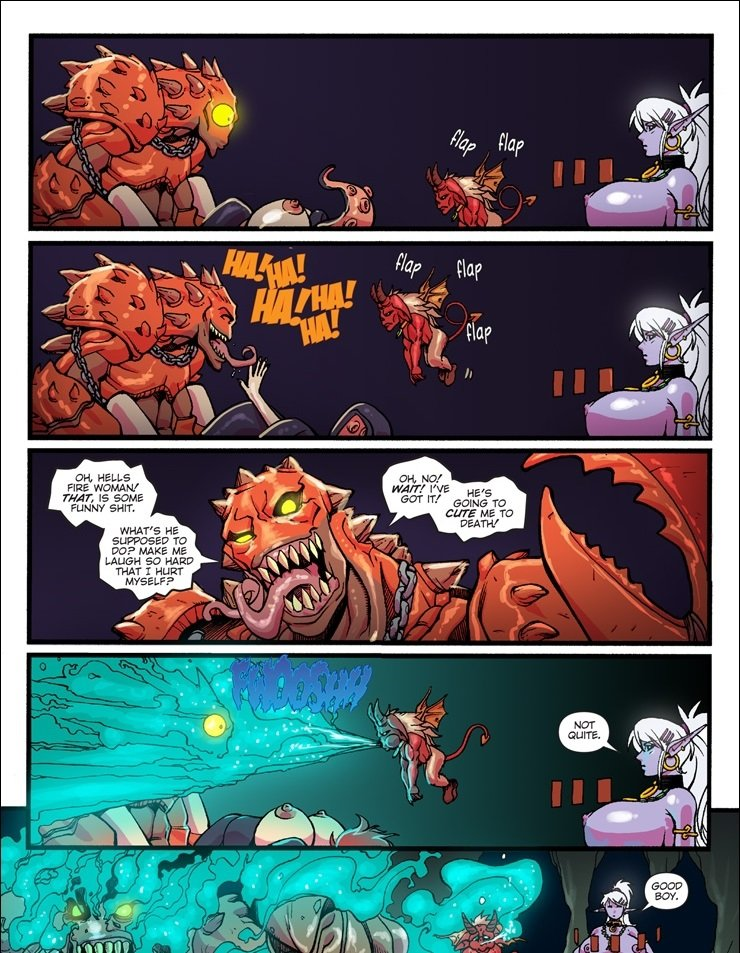 Blood in the Water Mana World 11