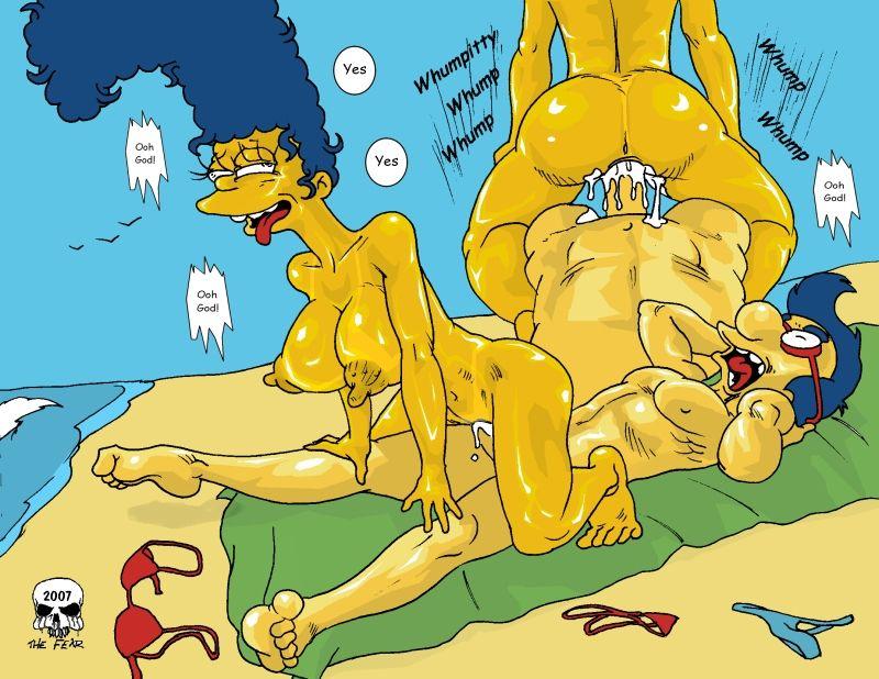 Beach Fun Simpsons XXX 04