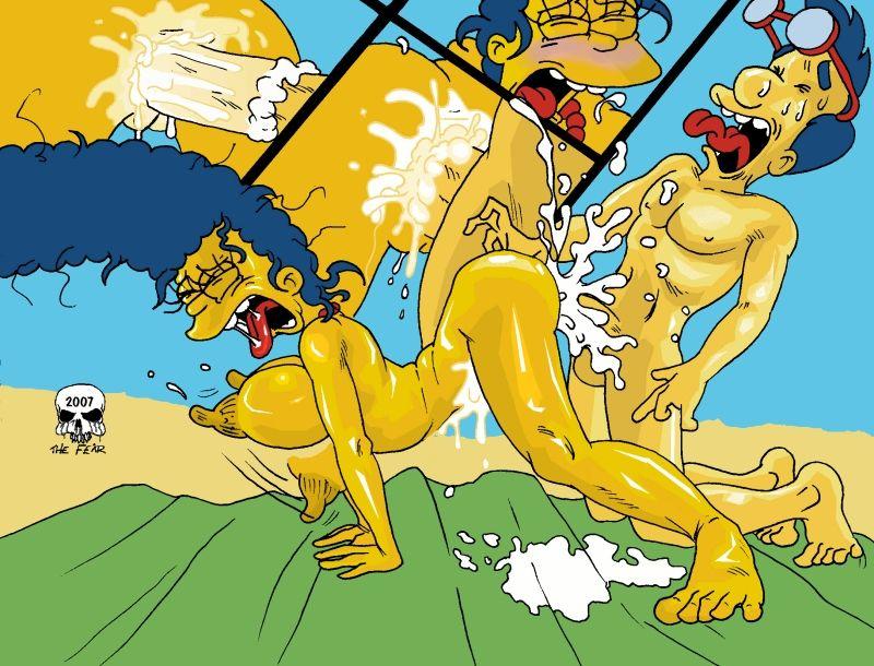 Beach Fun Simpsons XXX 10