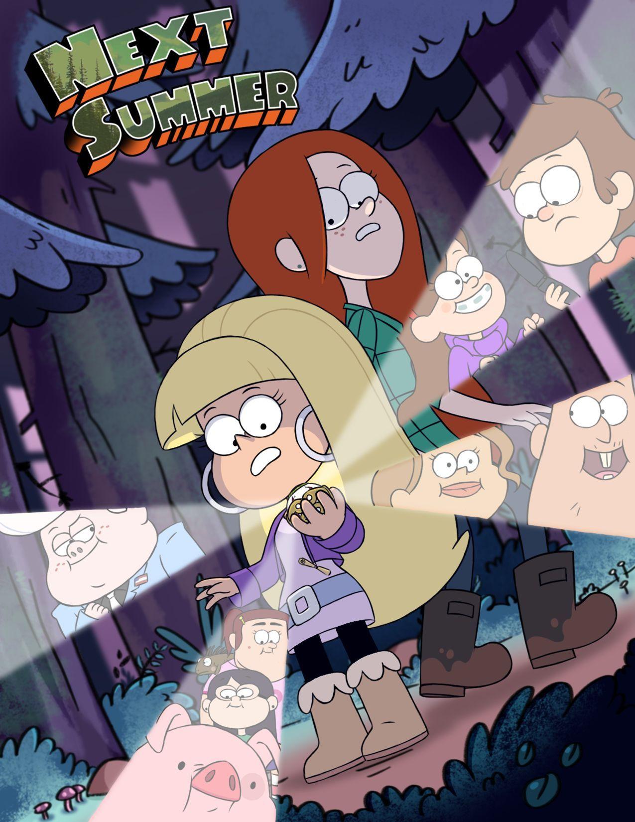 Next Summer Gravity Falls 01