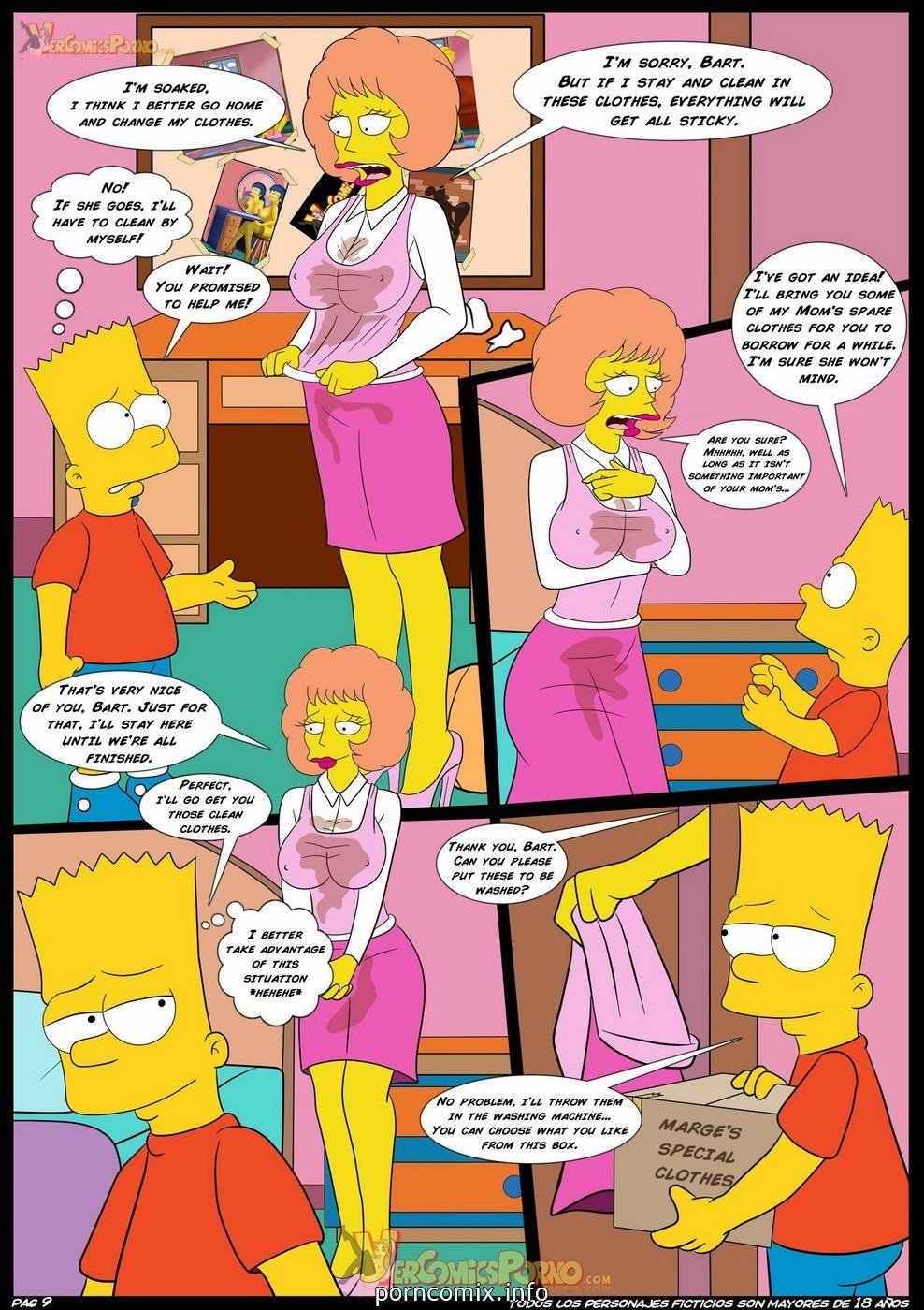 4Los Simpson Porno old habits 4 - the simpsons - kingcomix