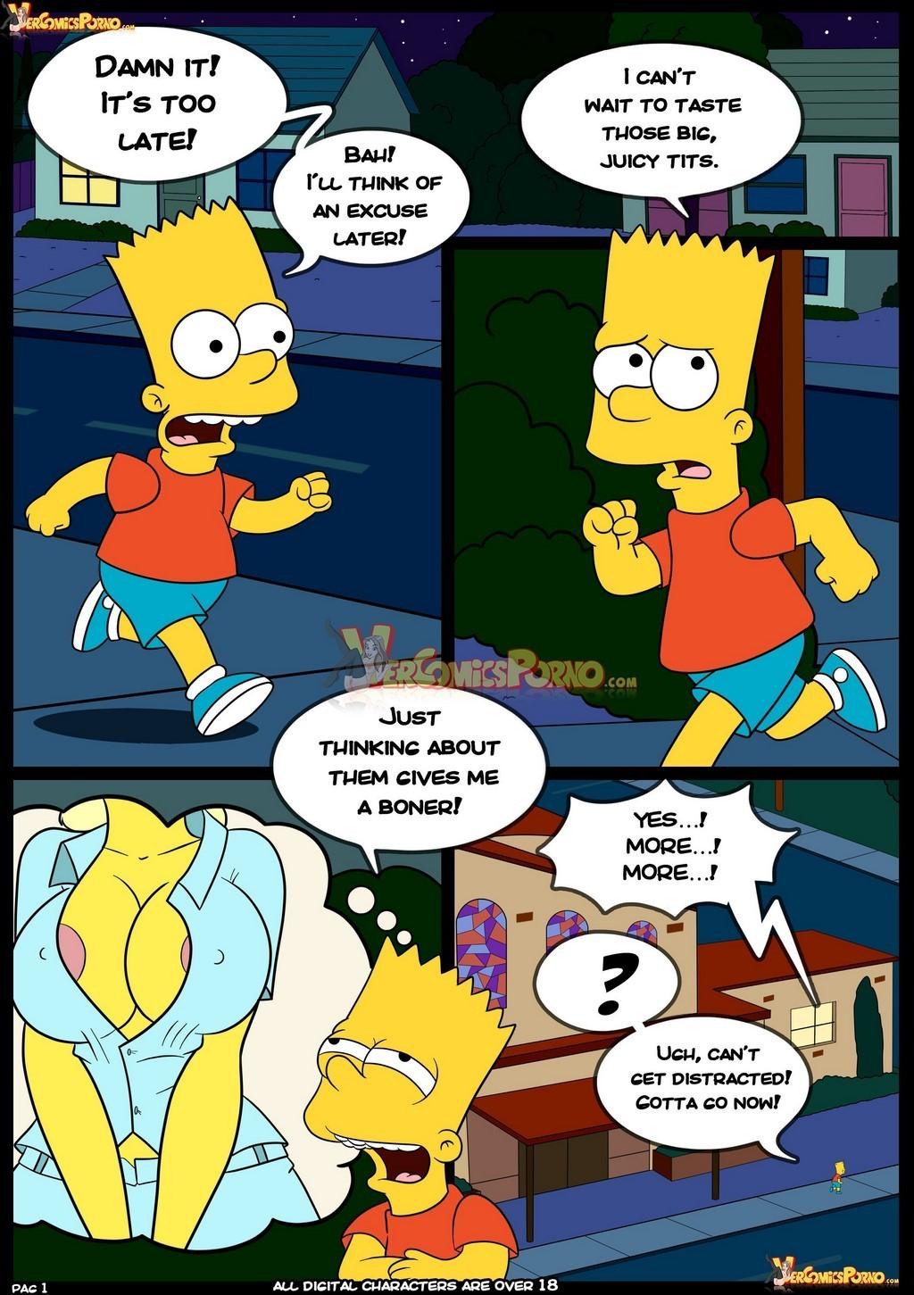 Simpsons hentai the Parody: The