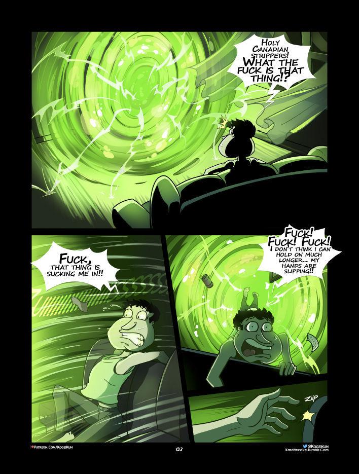 Quagmire Into The Multiverse 04