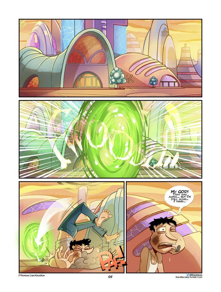 Quagmire Into The Multiverse 06