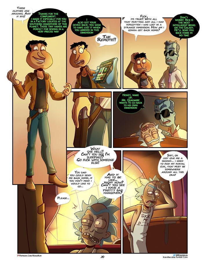 Quagmire Into The Multiverse 31