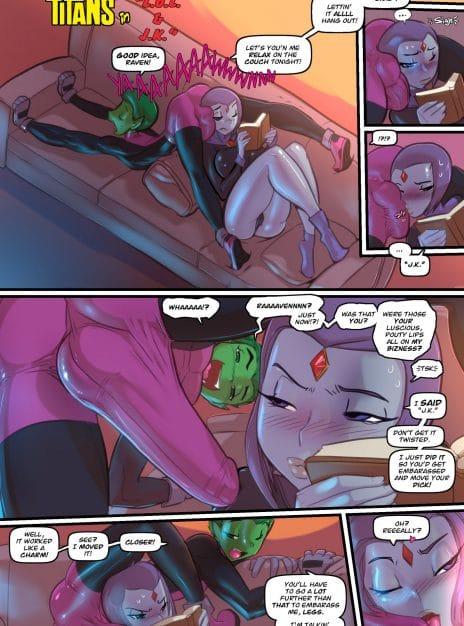 Barely Eigh – Teen Titans