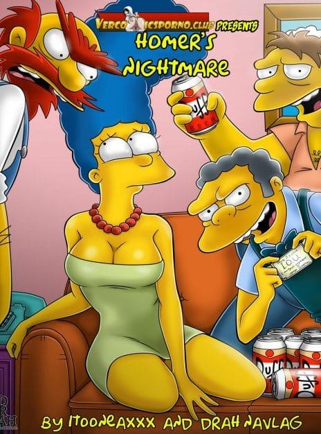 Homer's Nightmare – Minicomic