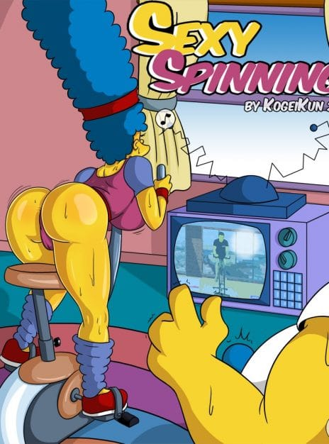 Sexy Spinning The Simpsons