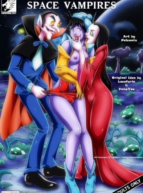 Space Vampires - Palcomix
