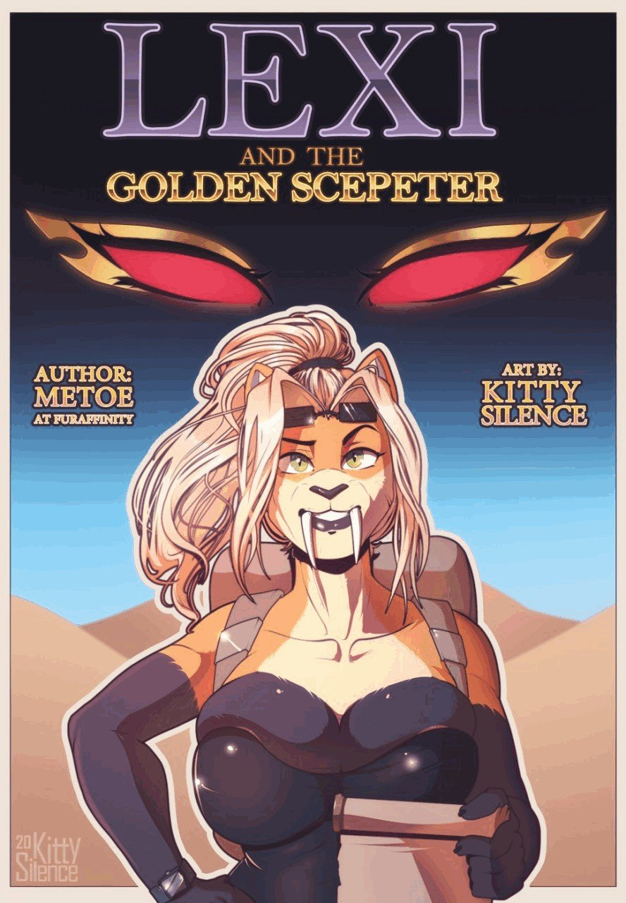 Lexi And The Golden Scepter Kitty Silence 01