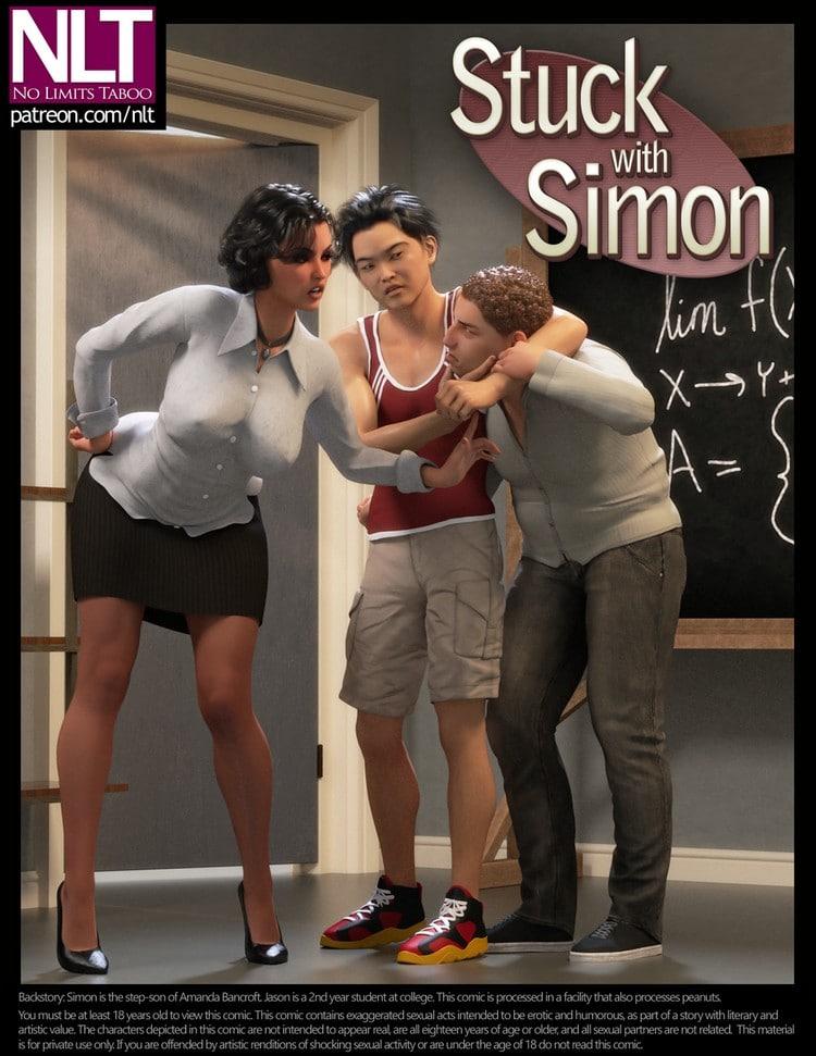 Stuck With Simon 01