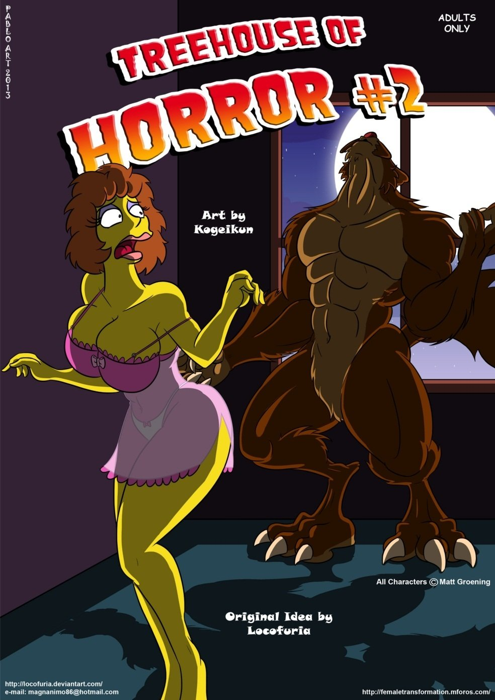 Treehouse Of Horror 2 Simpsons 01