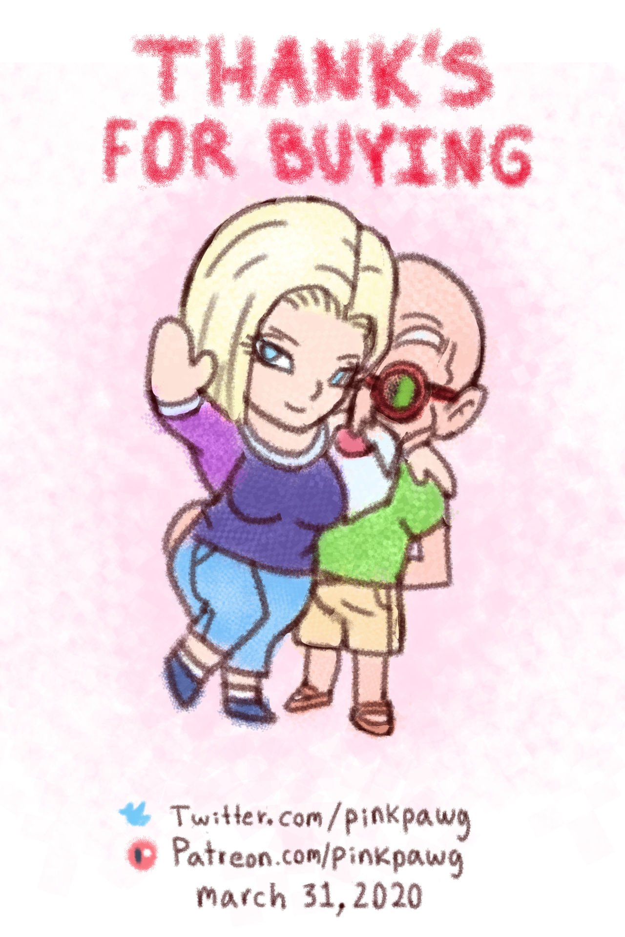 Android 18 Ntr Ep 1 Pinkpawg 23