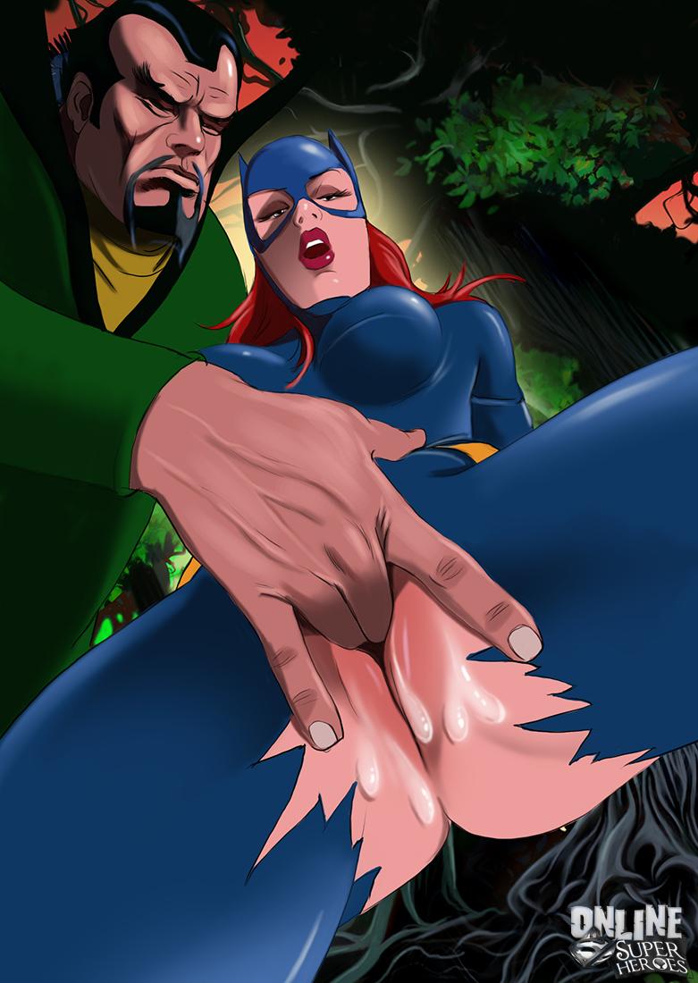 Batgirl Gets Banged Hard 3