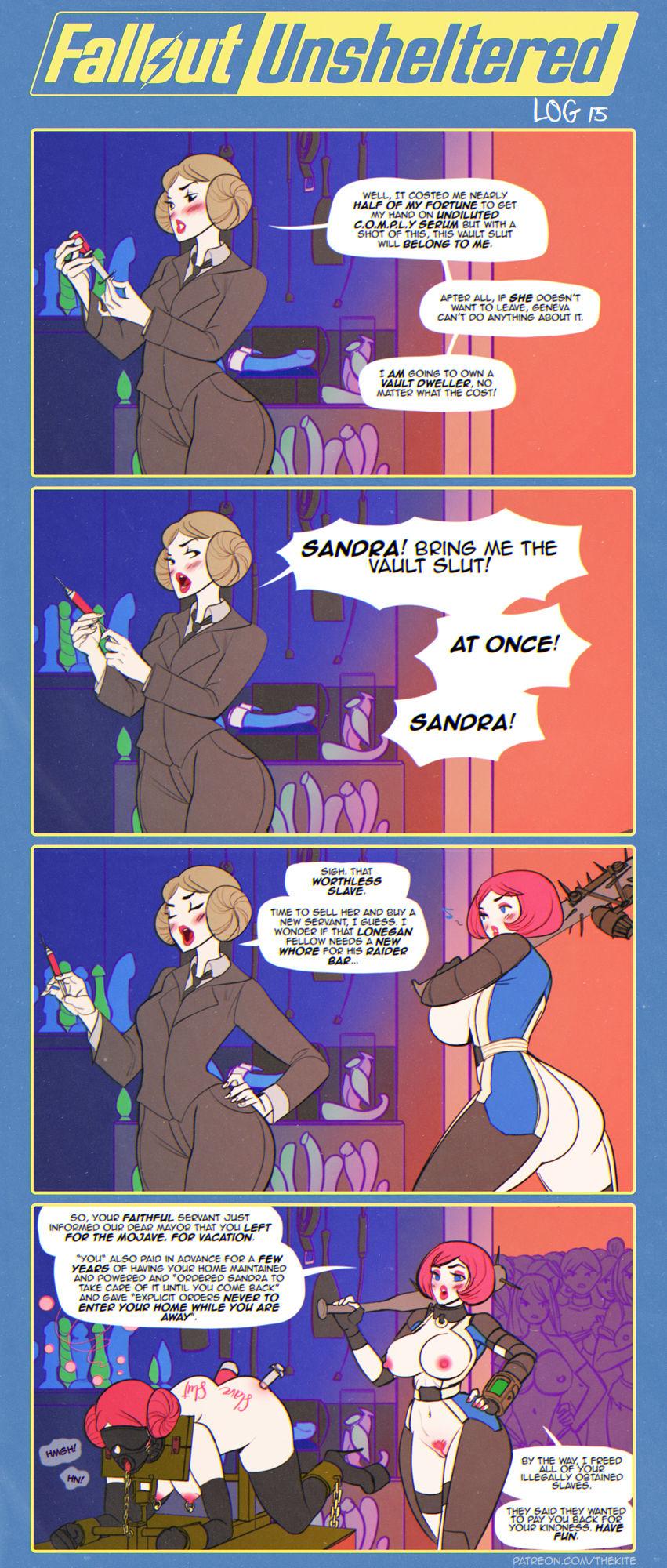 Fallout Unsheltered Xxx 18