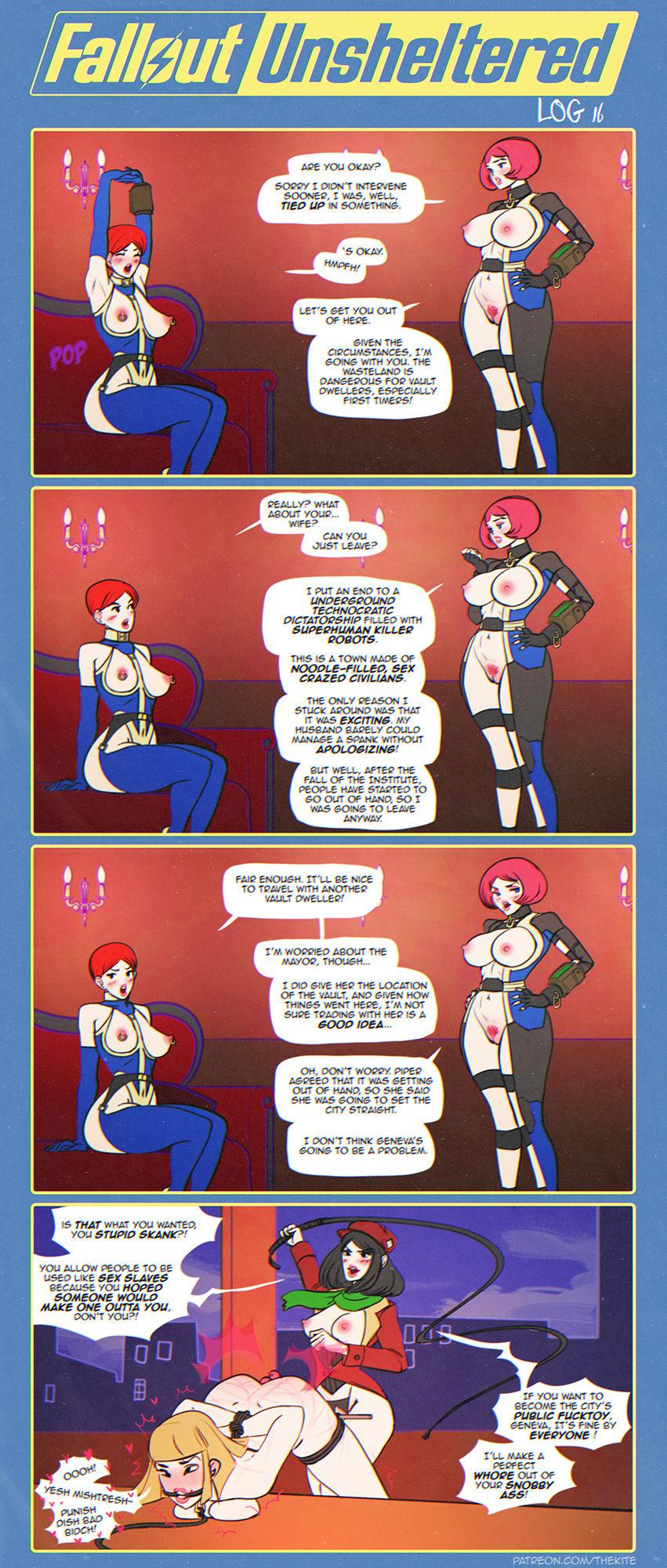 Fallout Unsheltered Xxx 19