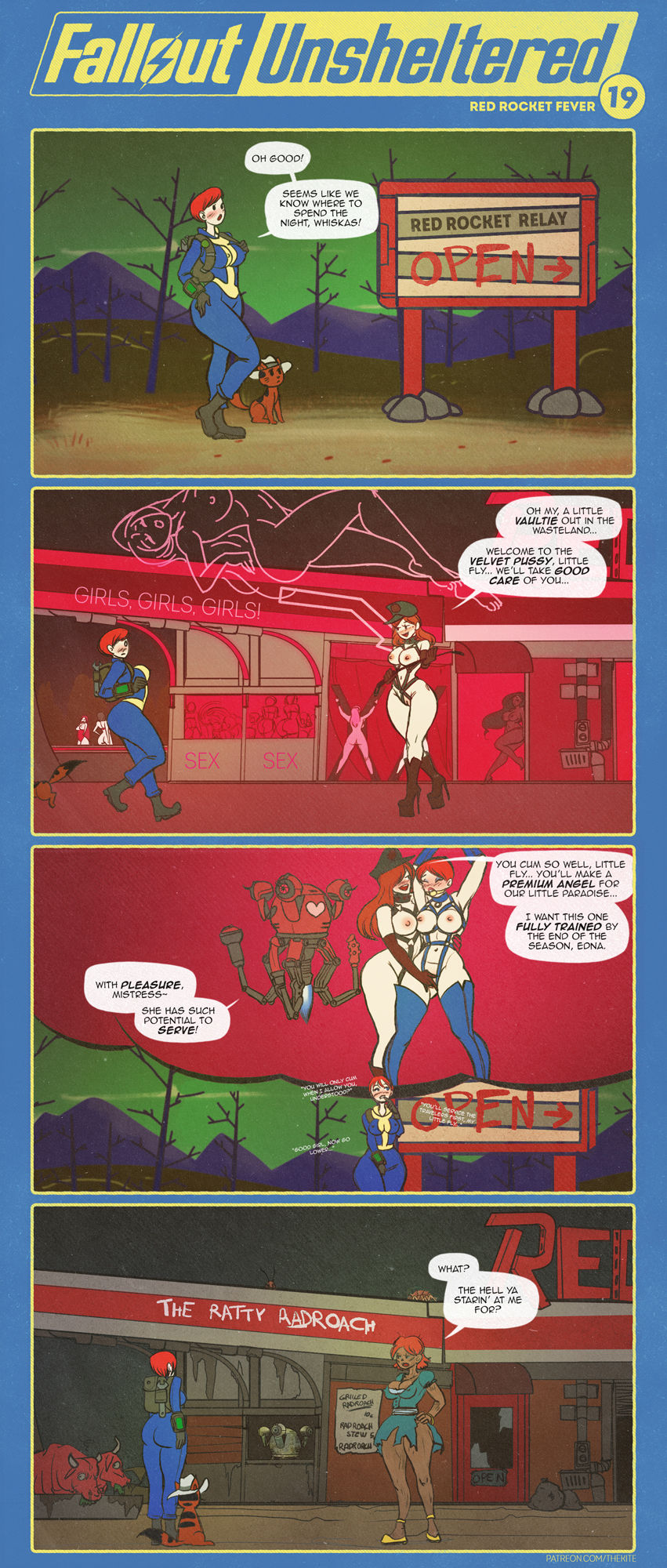 Fallout Unsheltered Xxx 22