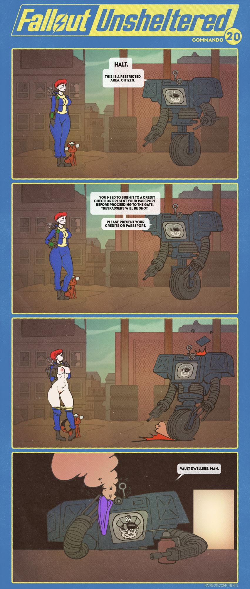 Fallout Unsheltered Xxx 23
