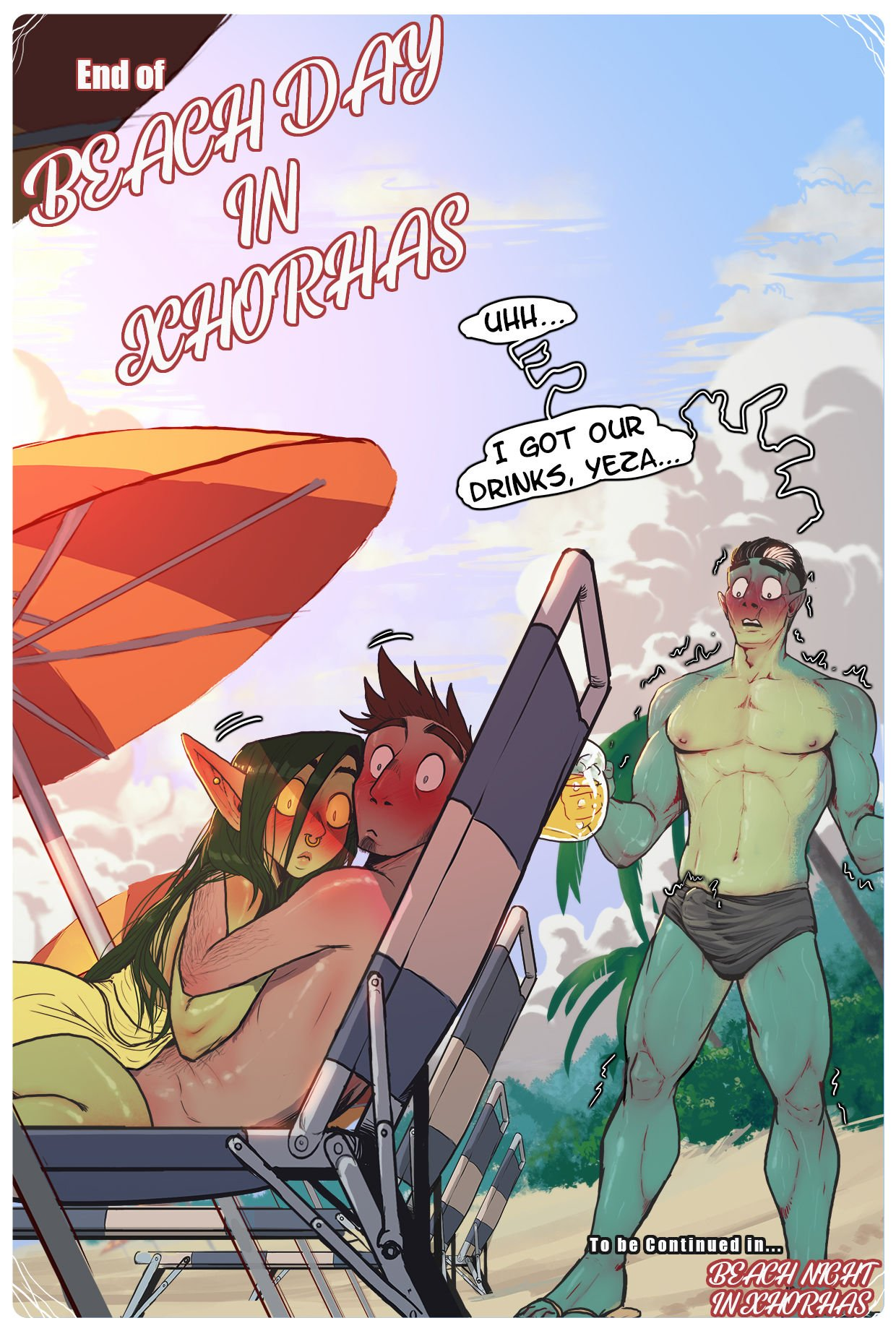 Nott The Thicc – Beach Day In Xhorhas 30