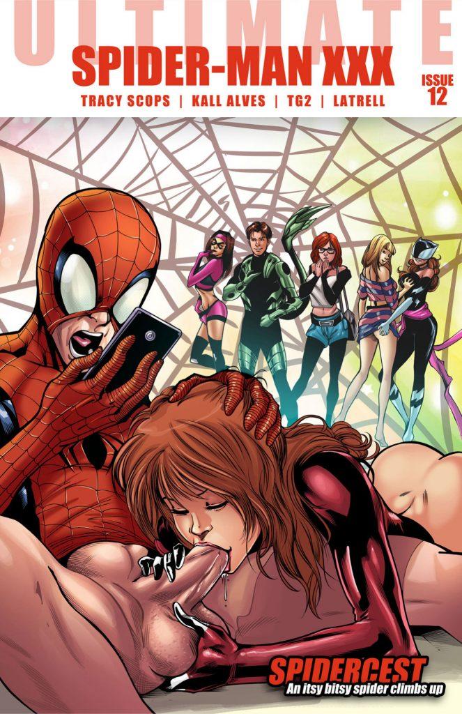 Spidercest Ultimate Spider Man Xxx Tracy Scops 01