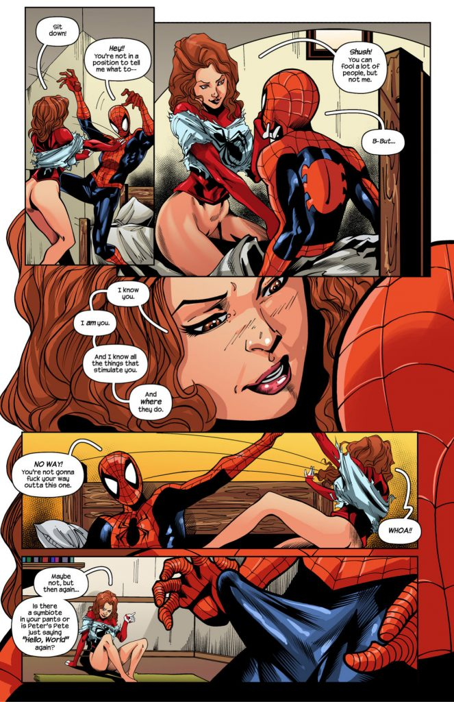Spidercest Ultimate Spider Man Xxx Tracy Scops 05