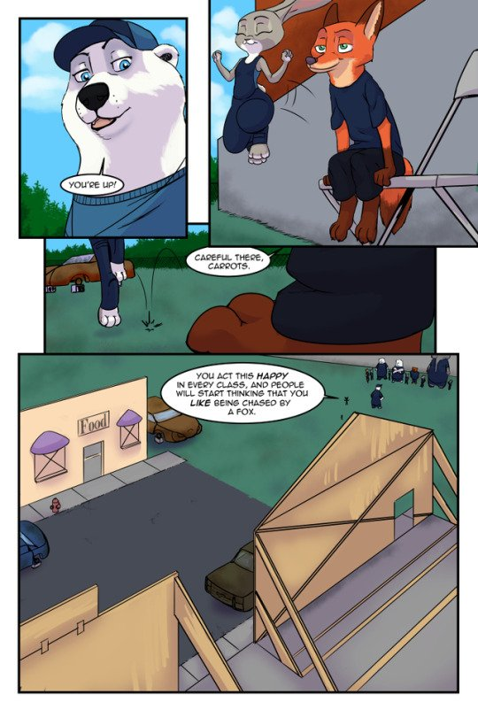 The Broken Mask Chapter 1 Zootopia 07