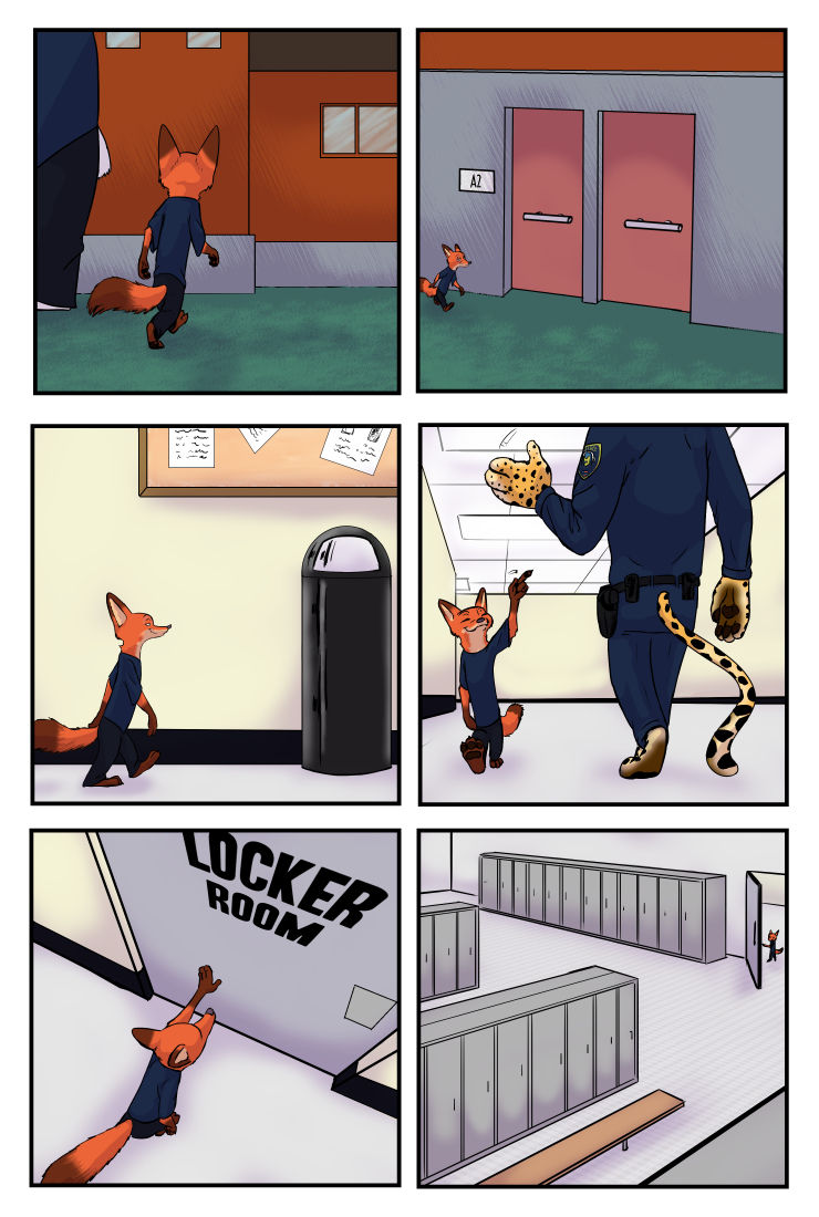 The Broken Mask Chapter 1 Zootopia 20